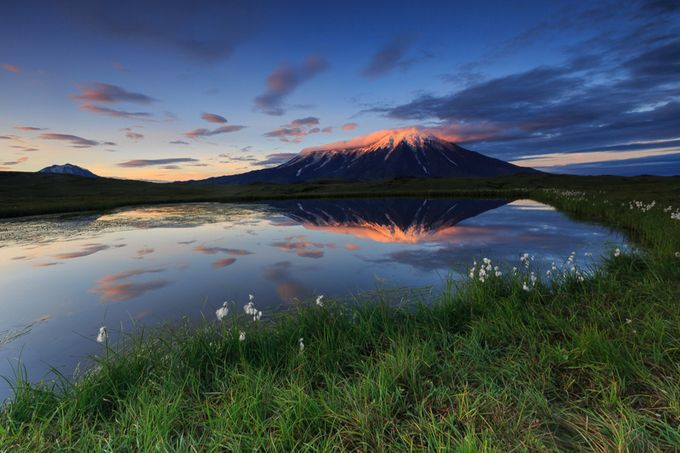 Volcanic Dawn by zachishtain - Unforgettable Landscapes Photo Contest by Zenfolio