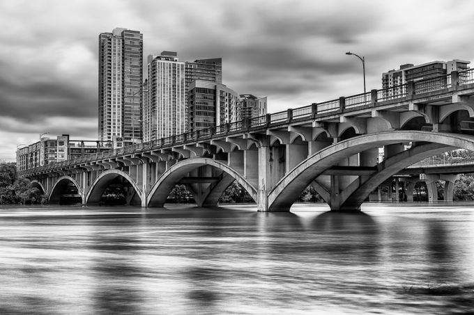 Bridge by TimSmith67 - Structures in Black and White Photo Contest
