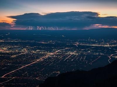 Thuderstorm over Albuquerque