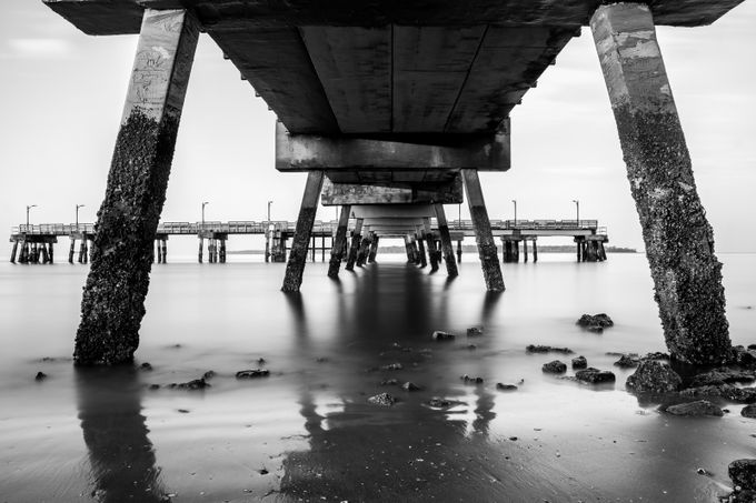 Shadows by jasonstewart_6603 - The View Under The Pier Photo Contest