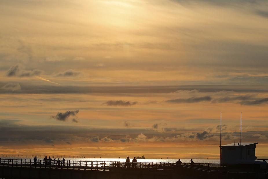 Sunset stroll..........