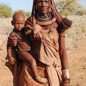 Northern Namibia in the Kunene region you will find these warm people, called the Himba.