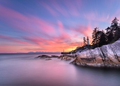 Lighthouse Park Sunset
