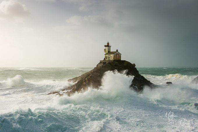 Haunted lighthouse against the sea by mathieurivrin - The Ocean Photo Contest