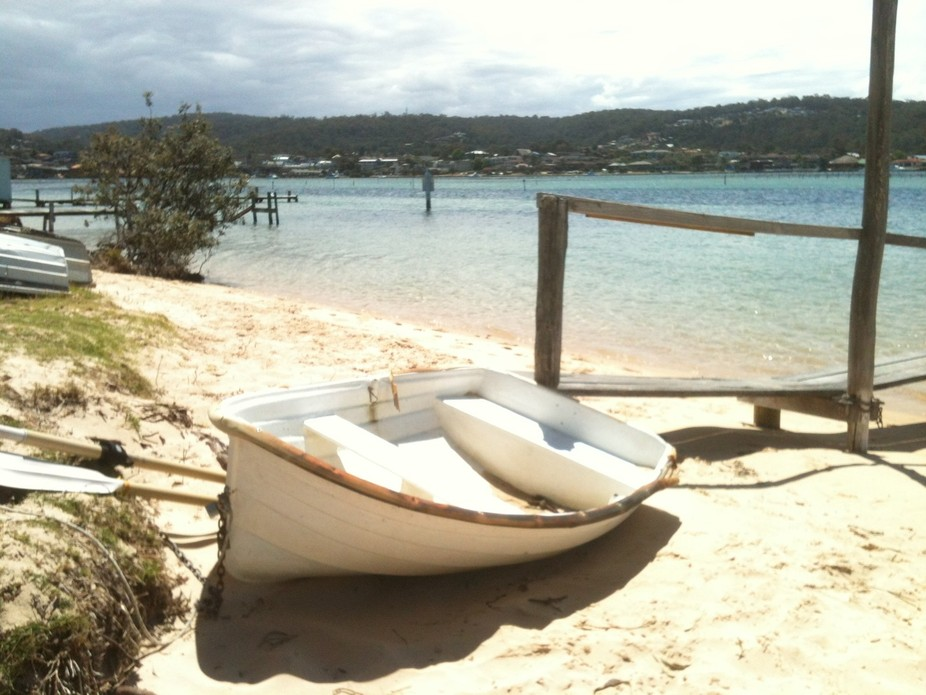 On holiday in Merimbula and came across this boat whilst on our morning walk