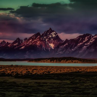 Willow Flats and The Tetons