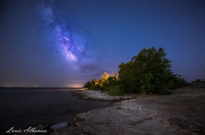 Lake Erie Midnight by NakinaManitou - The Milky Way Photo Contest