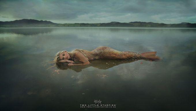 The Mermaid by racheljordan - Fantasy In Color Photo Contest