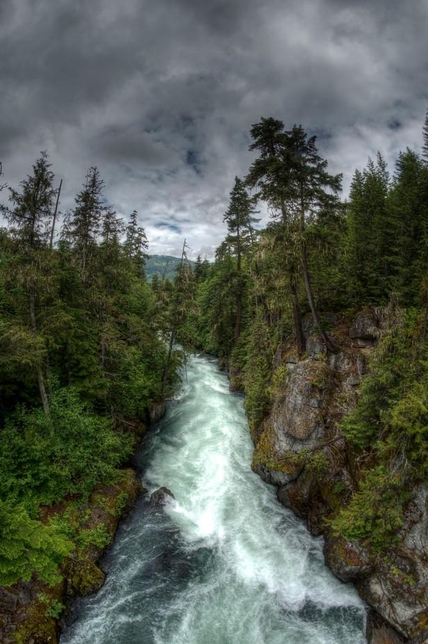 Cheakamus River by kjoya - Streams In Nature Photo Contest