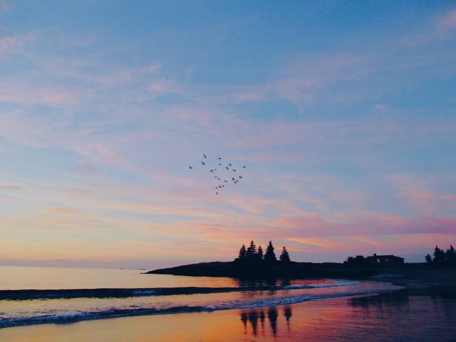 End of Summer Sunrise