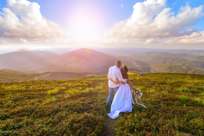 Wedding in Carpathians by oksanavashchuk - Romantic Photo Contest