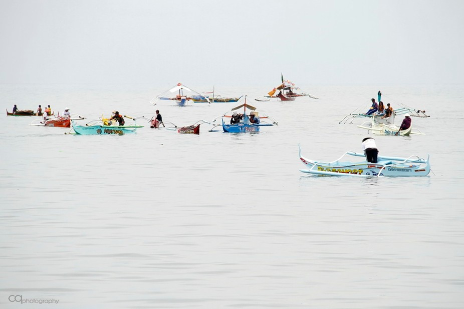 I took this photo during a lull at the 2016 Bancarera, a boat race of local boats called &quo...