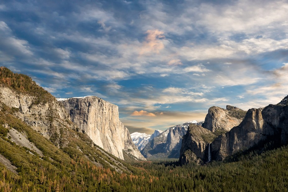 Yosemite: Tunnel View