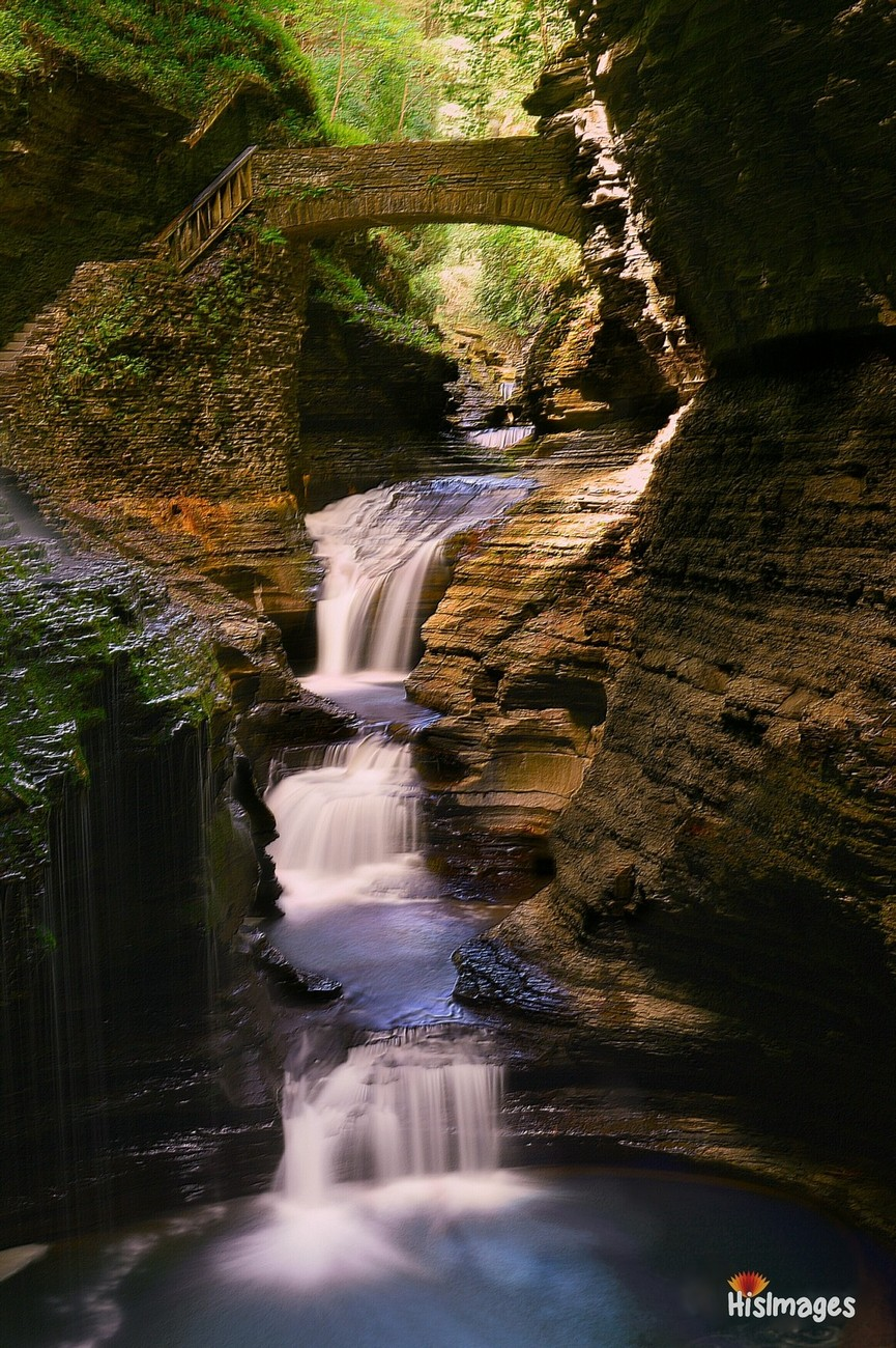 Watkins Glen, NY.  A limited path, often crowded with visitors, some lingering, some charging onward.  The question is the light, what perspective are you going to take with the light you are given?  How patient will you be with the process?