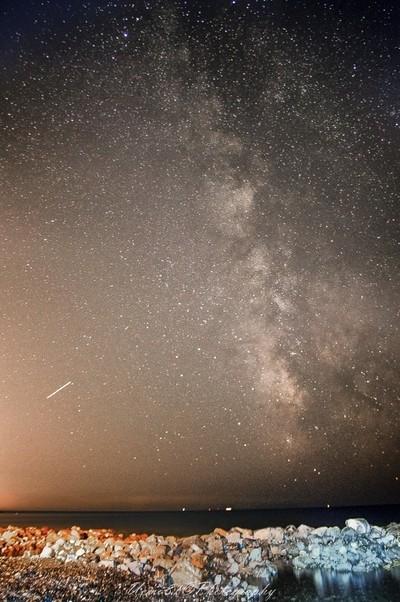 Milky Way - Fortullino Beach