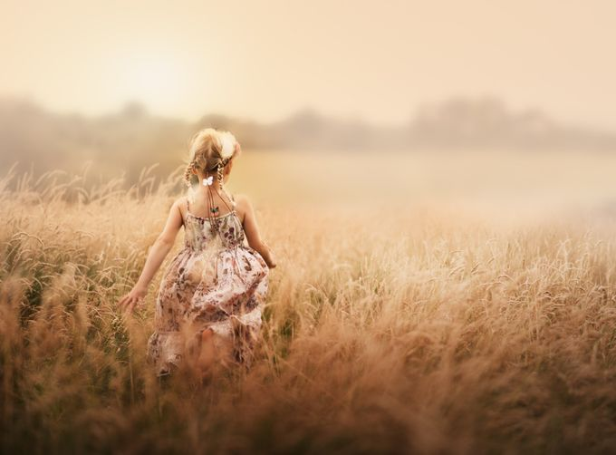 The girl in the field by Victoria_Anne - Capture The Back Photo Contest