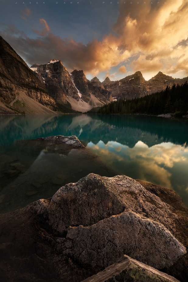 Moraine Lake by jasondarr - High Peaks Photo Contest