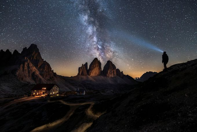 Rifugio Locatelli & the Tre Cime di Laverado by jamesrushforth