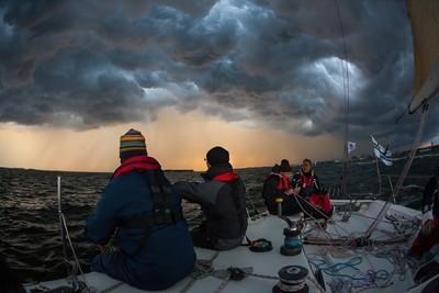 Rough weather sailors