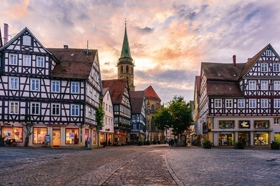 Evening in Schorndorf