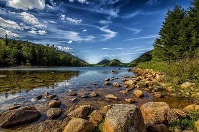 Acadia Jordon Pond