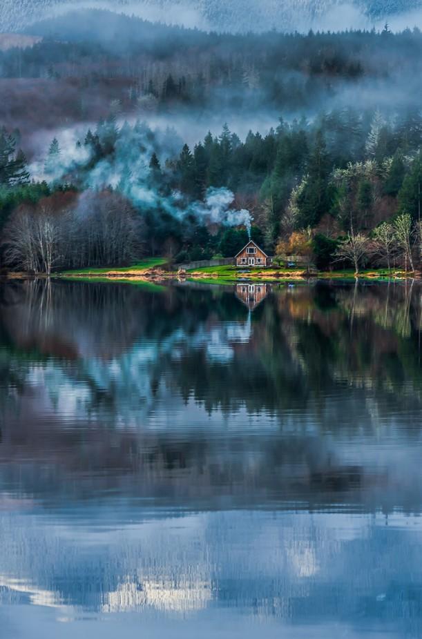 Leland Smokey Cabin by b2bjacks - The Zen Moment Photo Contest