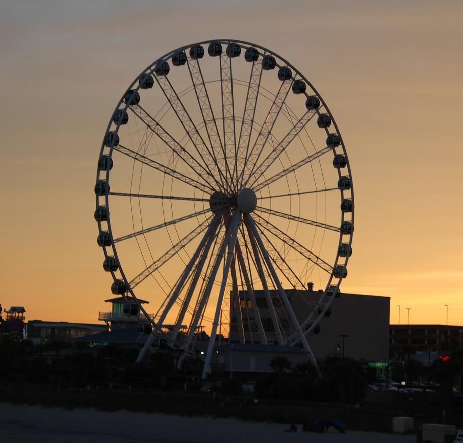 Ferris Wheel - Myrtle Beach boardway