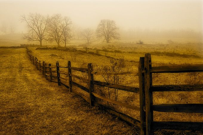 Gettysburg by nicolafiscarelli - Fences Photo Contest