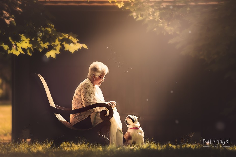 """Today I took my mother-in-law (we call her """"amma"""") out for a little shoot for t..."""