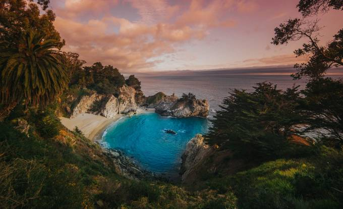 Mcway Falls  by tylerryant