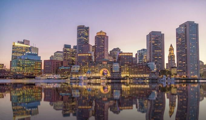 Dusk in the City by alexcampanella - Skyscrapers Of The World Photo Contest