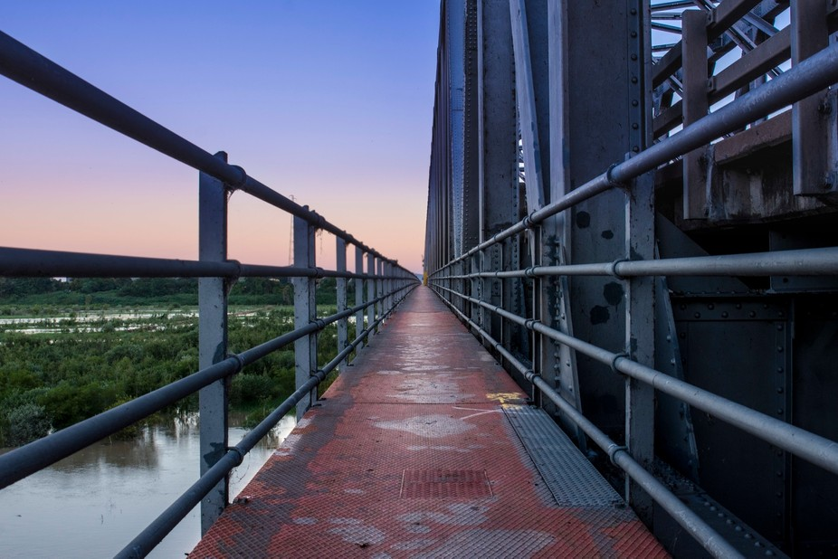 The Burdiken River Bridge. A well know landmark here in North Queensland, Australia.