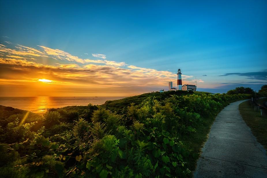 Montauk Lighthouse Sunrise