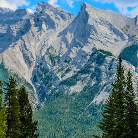 Mount Inglismaldie is the second highest peak of the Fairholme Range in Banff National Park. It is located immediately west of Mount Girouard in ...