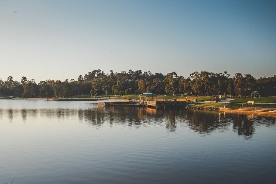 Afternoon at the lake
