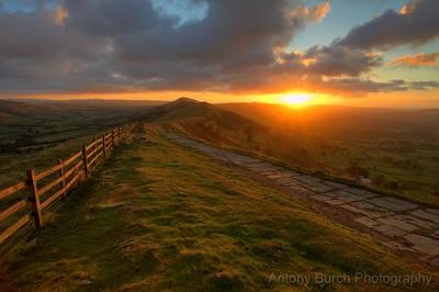 Great ridge dawn