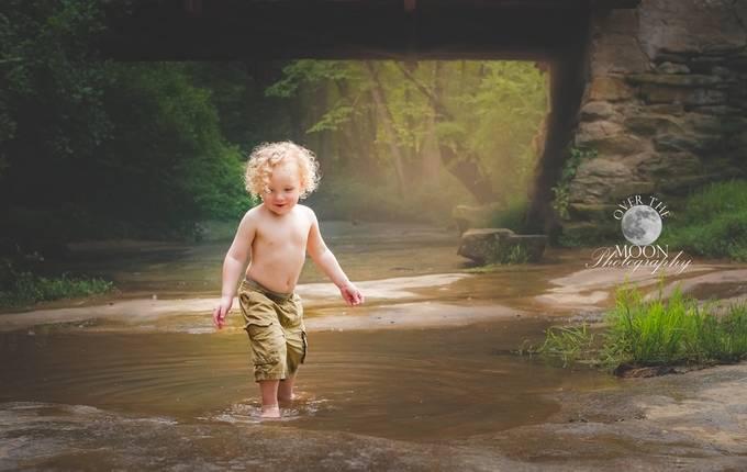 """""""Splashes"""" by tiffanyfinleymoon - Children In Nature Photo Contest"""