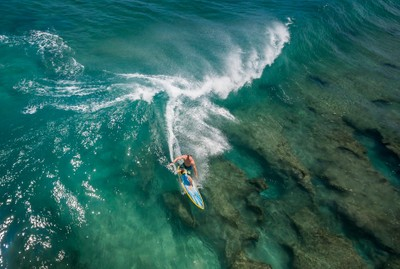 Aerial Surf view