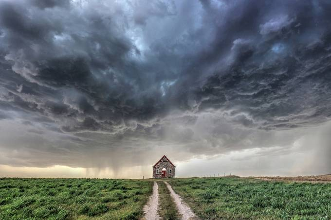 LIttle Church on the Prairie by craigboehm - In the Center Photo Contest
