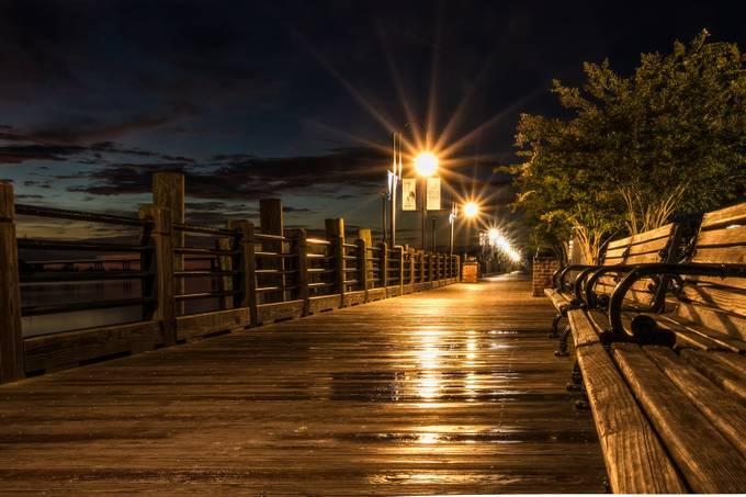 Cape Fear River Walk by TommyGurgul - Boardwalks Photo Contest