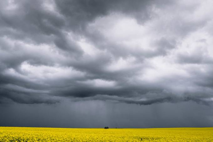 Prarie Storm by ryandaw - A Storm Is Coming Photo Contest