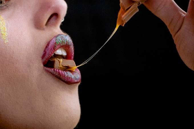 Stretch  by DevilishImagery - Showcase Lips Photo Contest