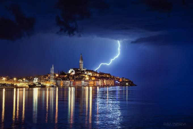 Rovinj at 1:00am by ElenaParaskeva - Cloudy Nights Photo Contest