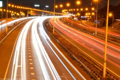 Long exposure highway