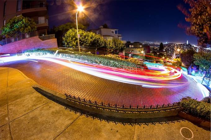 Lombard Street by jxsnyder - Fast Photo Contest