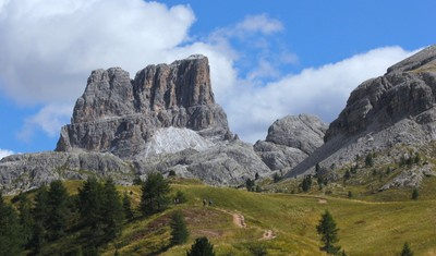 Monte Averau in summer