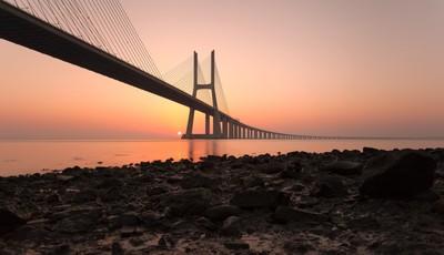 Sunrise On The 'Endless' Bridge