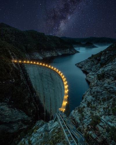 Light It Up - Gordon Dam, Tasmania, Australia