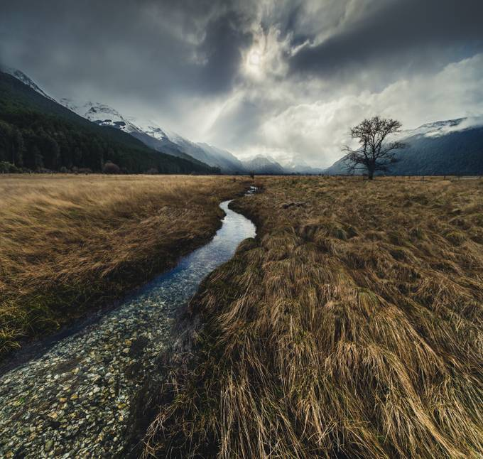 Alpine Outflow by RemarkableImagery - Composition And Leading Lines Photo Contest