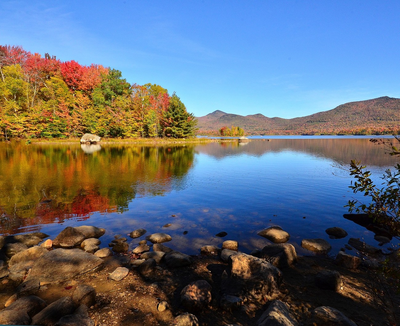 Vermont,   Fall on the Pond Oct 2014